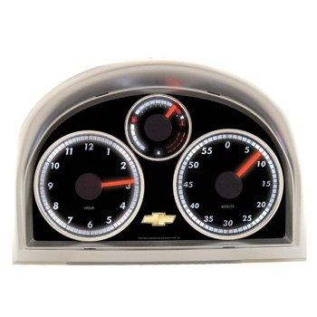 Lighted Chevrolet Dashboard Desk Clock