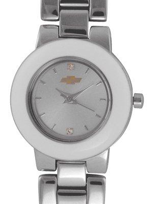 Ladies Chevrolet Metal Band Watch with Interchangable Bezels