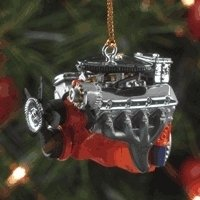 Chevy L89 Engine 1:18 Resin Decoration