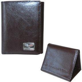 Corvette C6 Wallet - Brown Leather