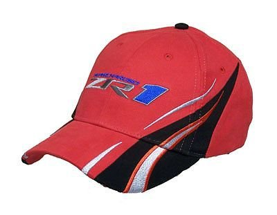 """ZR1 Corvette """"Vanishing Point"""" Hat - Red"""
