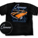 Camaro Z/28 Supercharged 69 Black T-Shirt - L