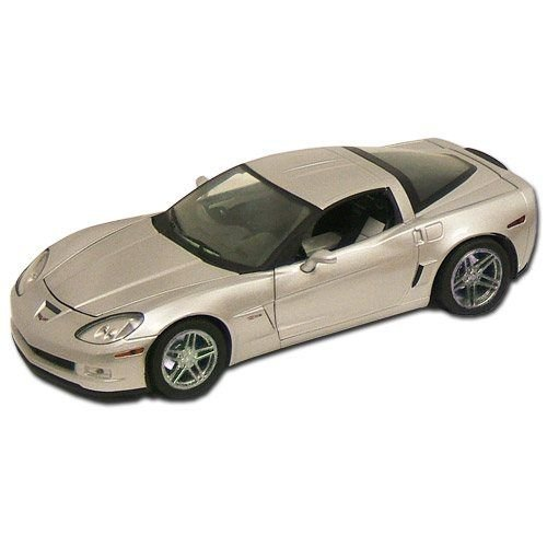 2009 Corvette Blade Silver Limited Ed. Z06 1:24 Diecast