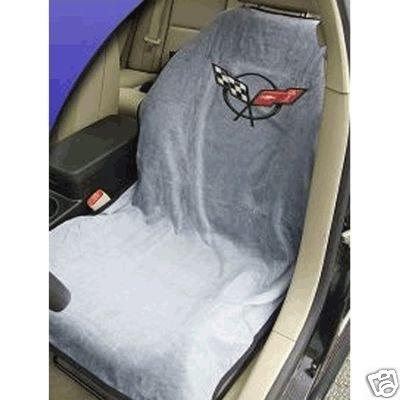 C5 Corvette Seat Armour 100% Cotton Seat Cover 2PK Grey