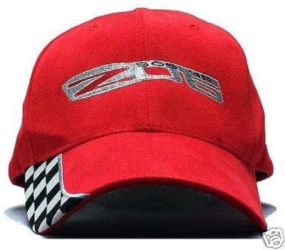 C6 Corvette Z06 Checker Edge Hat - Red