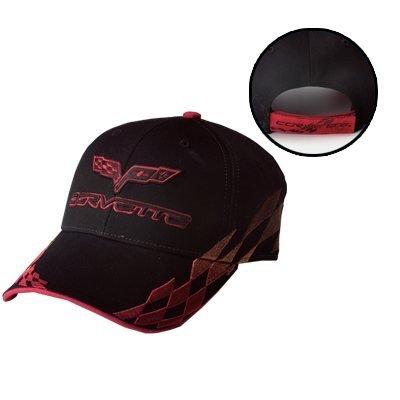 C6 Corvette Bad Vette Hat - Red