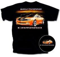 Camaro Muscle Transformed Black T-Shirt - XL