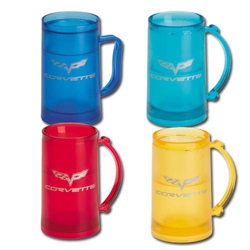 C6 Corvette Freezer Mug - Red