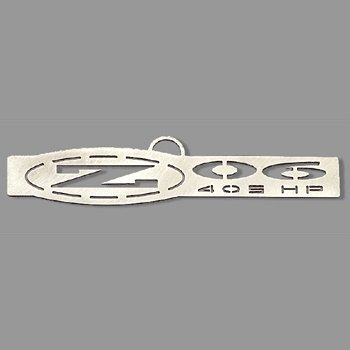 C5 Corvette Z06 405 HP Emblem Ornament