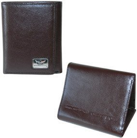 Corvette C5 Wallet - Brown Leather
