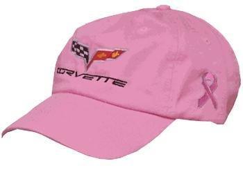 C6 Women's Corvette Breast Cancer Awareness Pink Hat