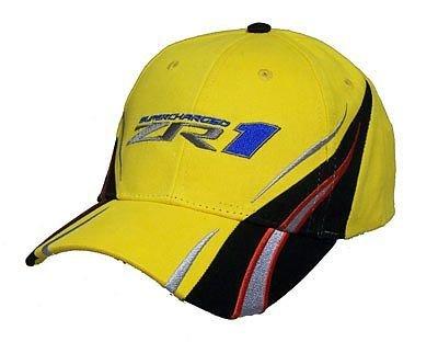 """ZR1 Corvette """"Vanishing Point"""" Hat - Yellow"""