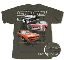"Pontiac GTO ""First Muscle"" T-Shirt - L"