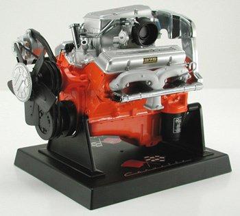Corvette 327 Fuel Injected L84 1:6 Engine Diecast