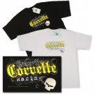 Jake Corvette Racing Embroidered T-Shirt - XL