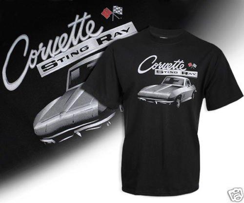 C2 Corvette Black Shadow T-Shirt - 2XL