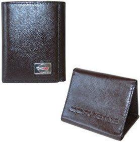 Corvette C4 Wallet - Brown Leather