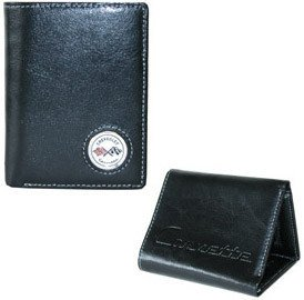 Corvette C1 Wallet - Black Leather