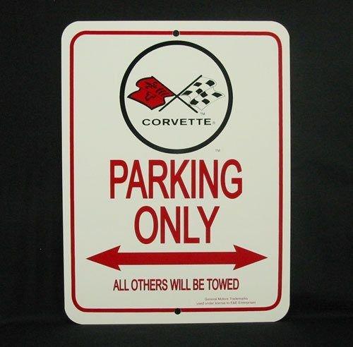 C3 1973-1982 Corvette Parking Only Sign