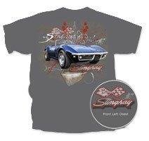 """C3 Corvette Stingray """"Sting Like A ..."""" T-Shirt - 2XL"""