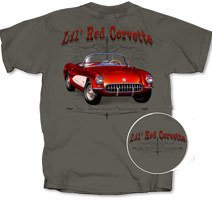 "C1 ""Lil' Red Corvette"" Charcoal Grey T-Shirt - L"