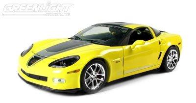 C6 2009 Yellow Corvette Z06 GT-1 1:24th Diecast
