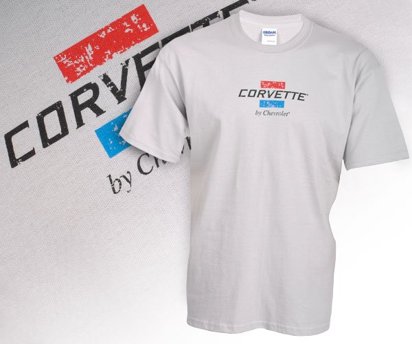 Corvette by Chevrolet Grey Heather T-Shirt - XL