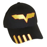 C6R Jake Corvette Black Cotton Twill Hat