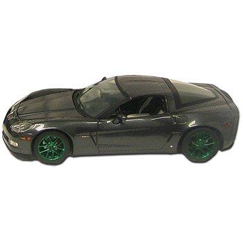2009 Corvette Cyber Gray Ltd. Ed. Z06 Green Machine 1:24 Diecast