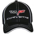 C6 Corvette Black Flex Fit Hat
