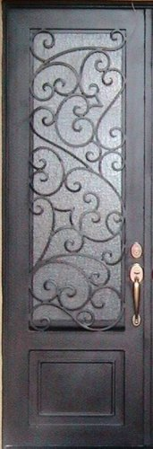 "Custom Wrought Iron Door 39 1/2"" x 81 1/2"""