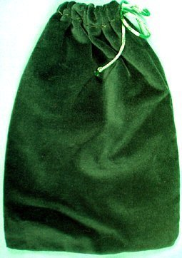Velveteen Drawstring Bag