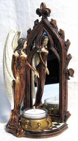 Rites of the Undeath Maiden Candle Holder