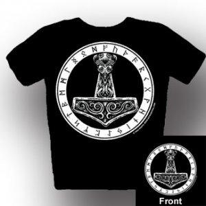 Runic Thor's Hammer Shirt