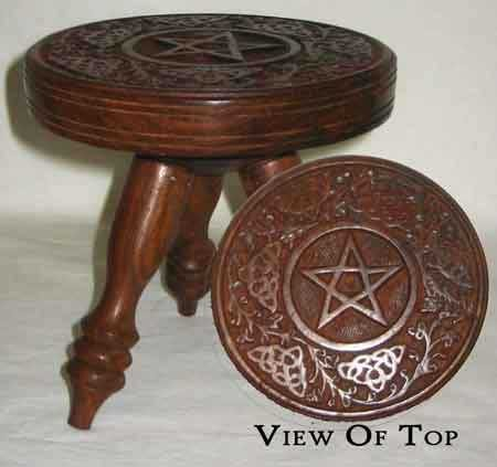 Altar Table: Pentagram
