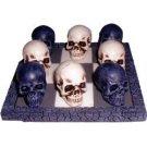 White Skull Vs Black Skull Tic-Tac-Toe Game