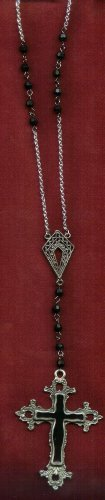 Gothic Cross Rosary