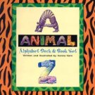 Animal Alphabet Deck & Book Set