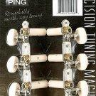 PING Standard Classical Guitar Tunier Machine Set NEW P2620