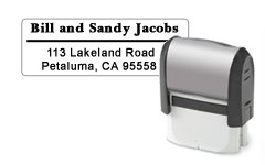 Large Rubber Stamp