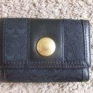 authentic Coach Ergo Signature Black Wallet 40471