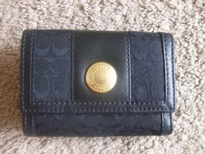 authentic Coach Ergo Signature Black Wallet 40471