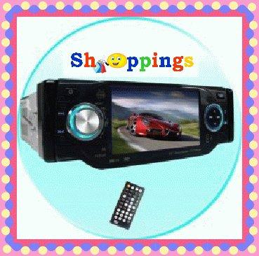 1-Din TV Tuner + Bluetooth Car DVD Player - Plays DivX + MP4