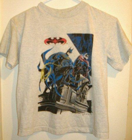 SOLD!!! Boys Shirt Batman and Robin Size Medium