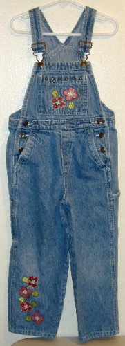 Girls Overall Size 6