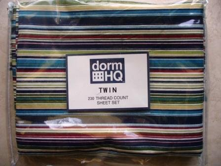 Dorm HQ Twin Sheet 230 Count