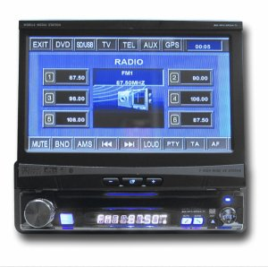 "Pantalla 7"" DVD/TV/BLUETOOTH/SUBWOOFER/SD-MMC  + ANTENA"
