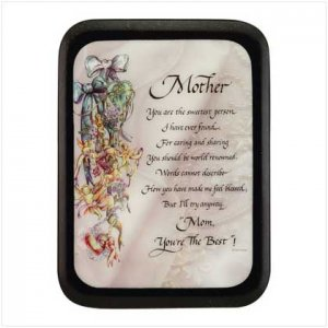 """""""Mother"""" wall Plaque  25307"""