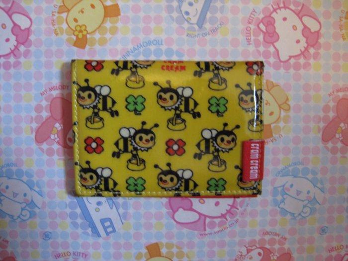 Cram Cream Honey Bee ID Case