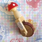 Decole Mushroom Rolling Rubber Stamp